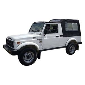Gypsy Black Soft Top Roof Suzuki Samurai Sj410 Sj413