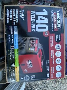 New Lincoln 140 Amp Weld pak 140 Hd Mig Wire Feed Welder