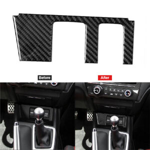 Carbon Fiber Power Outlet With Hdmi Trim Cover For Honda Civic Coupe 2013 2015