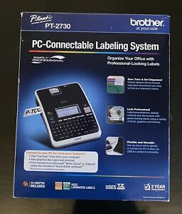Brother P touch Pt 2730 Label Thermal Printer