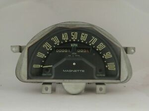 Speedometer Fits Mg Magnette 1959 1962 Smiths Brand Ss2701 05