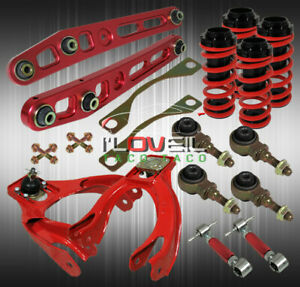 For 92 95 Civic Eg Jdm Adjustable Coilover Rear Front Camber Lower Control Arm