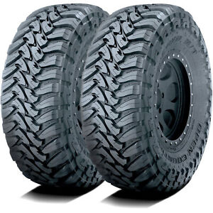 2 New Toyo Open Country M t Lt 285 70r17 Load C 6 Ply Mt Mud Tires
