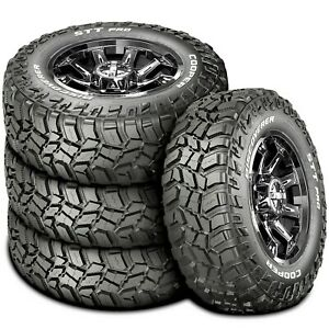 4 New Cooper Discoverer Stt Pro Lt 275 70r18 125 122p E 10 Ply Mt M t Mud Tires