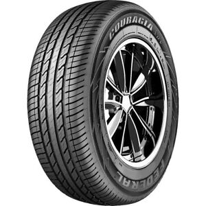 2 New Federal Couragia Xuv 255 65r16 109h A s All Season Tires