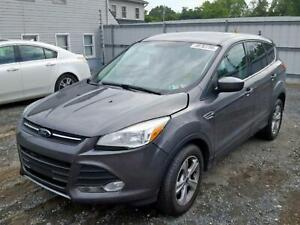 Ford Escape Left Driver Door Mirror Power Gray Paint Code Uj 2013