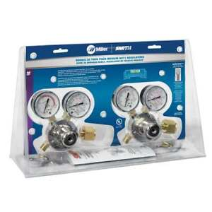 Miller Smith Htp5 Single Stage Oxygen Acetylene Regulator Twin Pack Cga 300