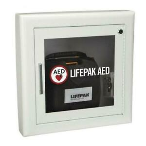 Physio control Semi recessed Aed Wall Cabinet