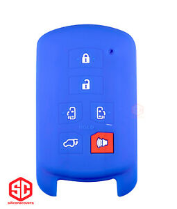 1x New Keyfob Remote Silicone Cover Fit For Select Toyota Sienna Vehicles