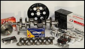 Bbc Chevy 496 Assembly Scat Wiseco 25cc Dome 4 310 Pistons 060 Over 2pc Rms