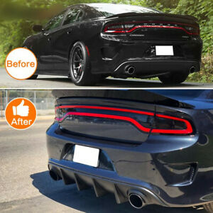 New Rear Lip Bumper Diffuser Valance Pp Fits 2015 19 Dodge Charger Srt Oe Style