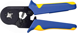 Haisstronica Ferrule Crimping Tool self adjusting Square Wire Crimper Plier awg2