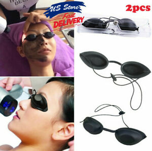 2pack Eyepatch Laser Light Protection Safety Goggles Ipl Beauty Clinic Eye Cover
