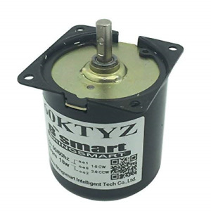 Bringsmart 60ktyz 10rpm Ac Motor Low Noise Gearbox Electric Motor Barbecue High