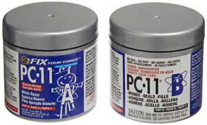 Pc products Pc 11 Epoxy Adhesive Paste Two part Marine Grade 1 2lb In Two Off