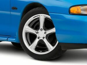American Muscle 2010 Gt Style Wheel In Chrome 18x9 Fits Ford Mustang 1994 1998