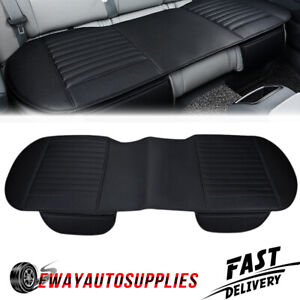 Leather Car Auto Rear Seat Cover Back Bench Cushion Mat Pad Protector 4 Seasons