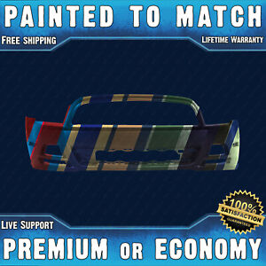 New Painted To Match Front Bumper Replacement For 2013 2014 Ford Mustang 13 14