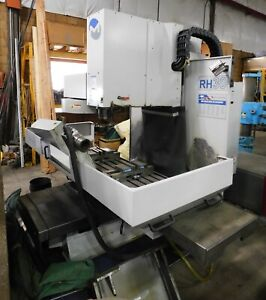 10408 Milltronics 3 Axis Cnc Bed Type Milling Machine