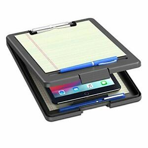 Clipboard With Storage Plastic Storage Nursing Clipboard With Low Black
