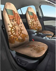 Pair Of Sexy Pinup Sailor Girl Car Seat Covers Lowest Price On Ebay