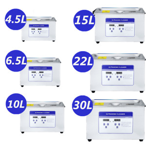 Ultrasonic Cleaner 30l Professional Equipment Industrial Industry W timer Heater