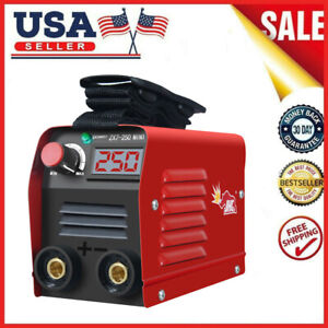 Mini Igbt Arc Welding Machine Mma Stick Electric Welder 110v 20 250a Dc Inverter