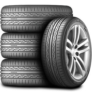 4 New Hankook Ventus V2 Concept2 215 55r17 94w As A s High Performance Tires