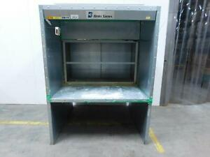 Binks Sames Large Industrial Paint Booth T139358