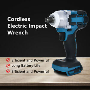 18v 1 2 Cordless Electric Impact Wrench Fast Charger Lithium Technology Battery