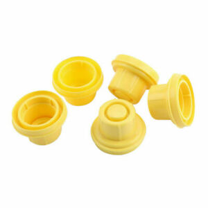 5x Replacement Yellow Spout Cap Top For Blitz Fuel Gas Can 900302 900092 U9