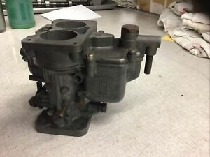 Weber 28 36 Dcd Carb Carburetor Made In Italy