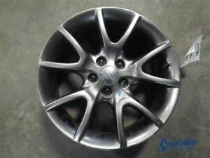 Wheel 17x7 1 2 Alloy 5 Double Spoke Black Finish Fits 13 16 Dart 1100411