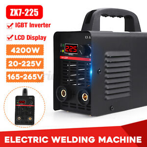 Portable 225a Dc Inverter Digital Stick Kit Welder Electric Welding Machine Us