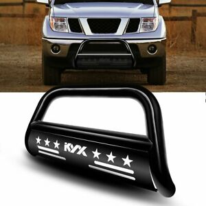 For 05 19 Nissan Frontier Brush Grille Guard Front Bumper Bull Bar