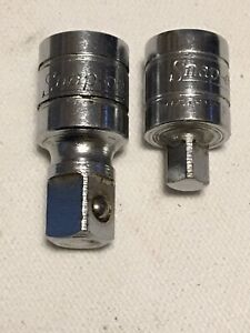 Snap On 3 8 3 8 1 5 Extension Fx1 And 3 8 1 4 Adapter Tm1 Set Excellent