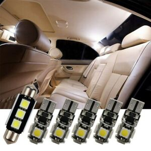 White Interior Led Smd Light Bulb 16 Kit For Vw Passat B5 3b 3bg Blau Lighting