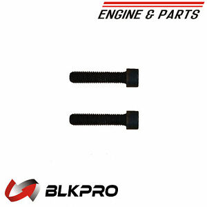 2 new Screw Flat Head Cap For Cummins Engine Parts 4928957 Q218083