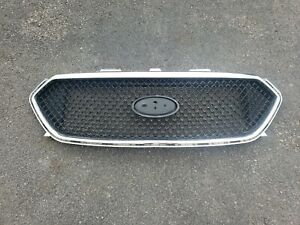 2014 2015 2016 2017 2018 2019 Ford Taurus Black Chrome Grille Oem Damaged