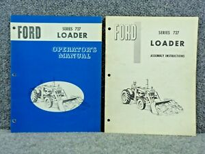 Oem Factory Ford Tractor Front End Loader 727 Operator s Manual Se09391