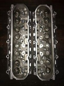 Chevy 6 0 6 2 Rebuilt Cylinder Heads 823 Casting