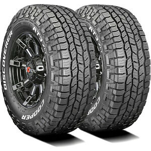 2 Tires Cooper Discoverer At3 Xlt Lt 285 70r17 121 118s E 10 Ply A t All Terrain