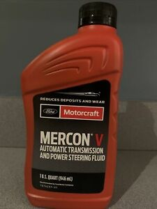 Ford Motorcraft Mercon V Automatic Transmission And Power Steering Fluid 1qt