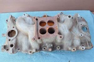 Oem Gm 3866948 Intake Manifold Big Block Chevy 396 427 65 67 Holley Dated A 12 6