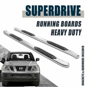 Super Drive 4 Side Step Fits 2005 2019 Nissan Frontier Crew Cab Pick Up Truck