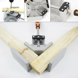 90 Degree Corner Clamp Right Angle Woodworking Vice Wood Metal Welding Tool Us