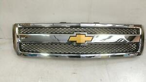 Grille For Silverado 1500 Pickup Like New Oem Assy