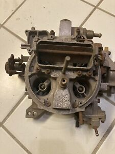 Holley Fpur Barrel Economaster Carburetor L 800 6r 5653b Parts Or Rebuild