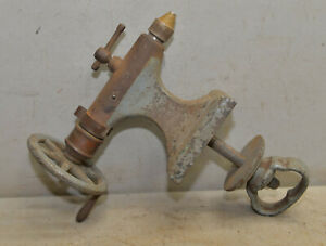 Vintage Metal Lathe Tail Stock Machinist Collectible Cast Iron Mounting Bolt