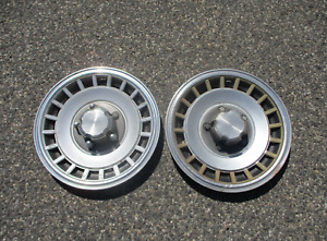 Genuine 1977 To 1990 Ford Econoline Van E150 16 Inch Hubcaps Wheel Covers